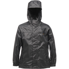 Regatta Pack-It II Veste imperméable Enfant, black